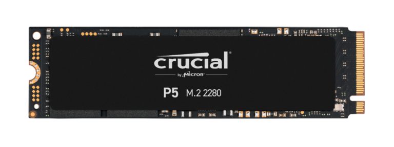 Crucial P5 500GB PCIe M.2 2280SS