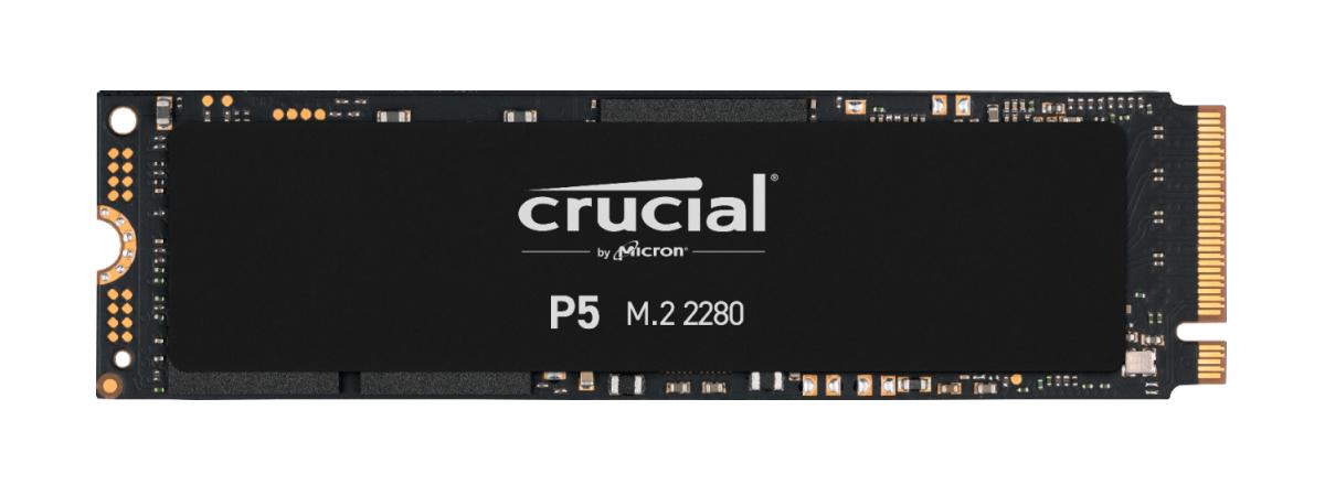 Crucial P5 500GB PCIe M.2 2280SS