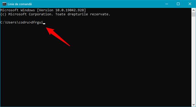 Deschide Defragmentare și Optimizare Unități din Windows PowerShell