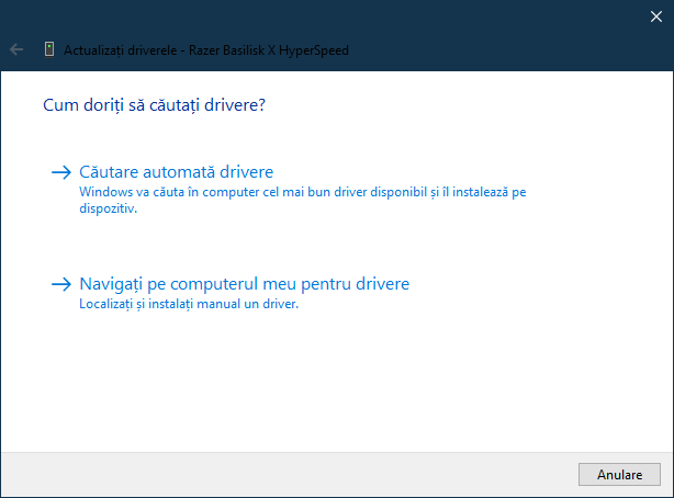 Cum actualizezi driverele pentru dispozitive