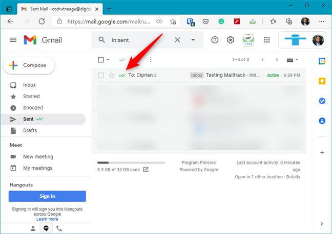 Mailtrack - Add-onuri pentru Microsoft Edge