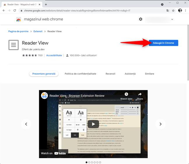 Instalează o extensie pentru Chrome pentru a tipări fără reclame