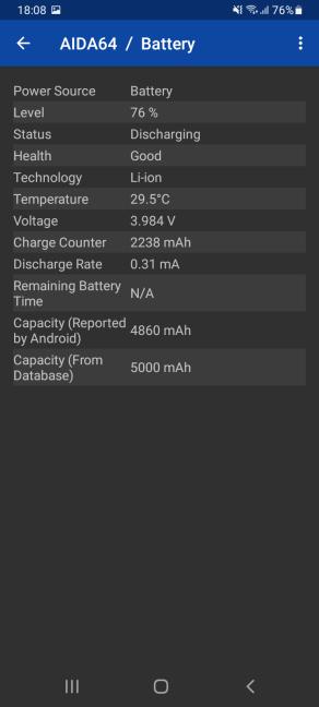 Detalii despre bateria disponibilă în Samsung Galaxy A32 5G