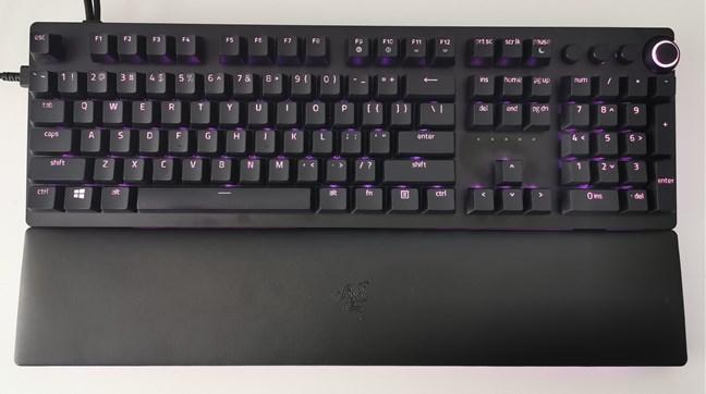 Razer Huntsman v2 Analog cu iluminare RGB activă