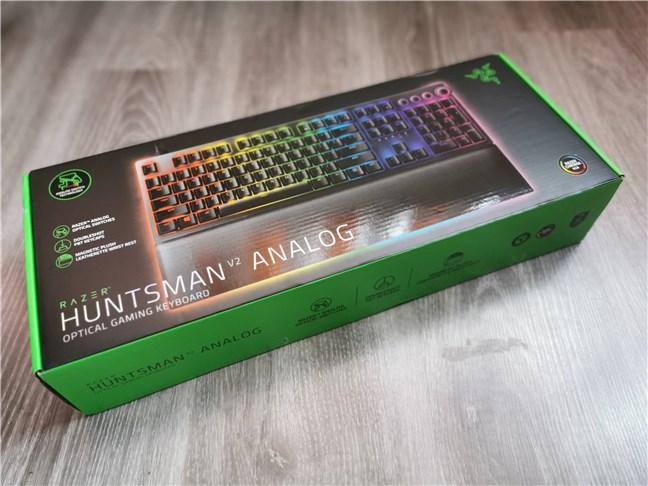 Cutia tastaturii Razer Huntsman v2 Analog