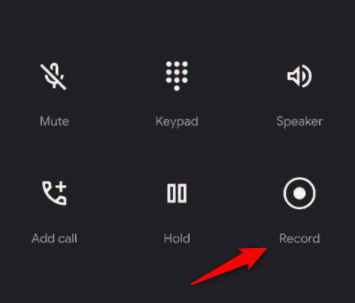 Înregistrarea unui apel telefonic cu aplicația Telefon de la Google