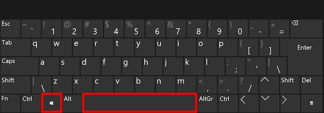 Cum schimbi limba tastaturii folosind Win + Spațiu