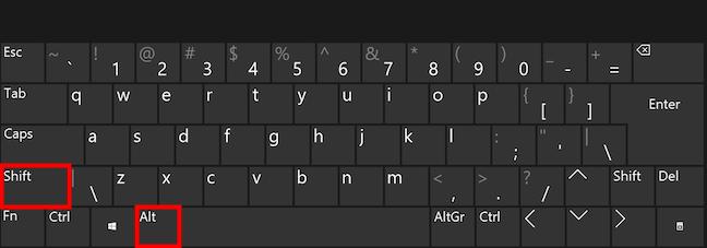 Scurtătura pentru schimbarea limbii din Windows 10