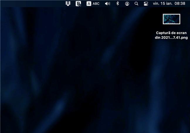 Unde ajung screenshoturile în macOS? Pe desktopul tău