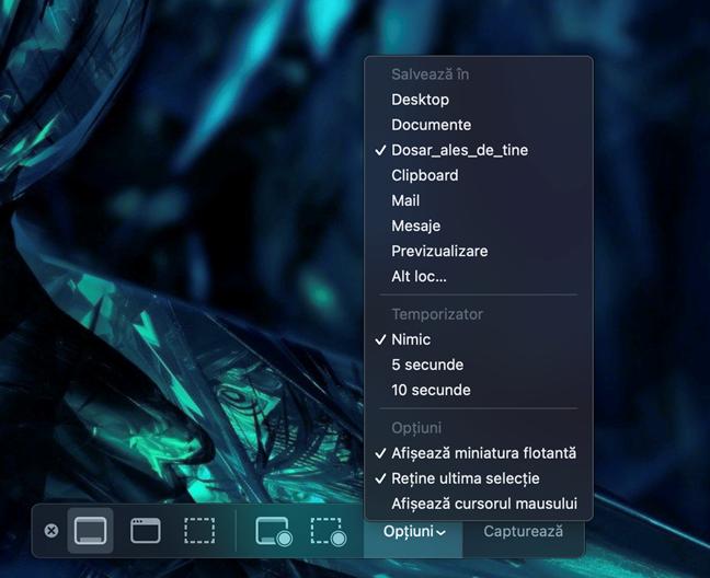 Schimbă unde sunt salvate screenshoturile pe Mac