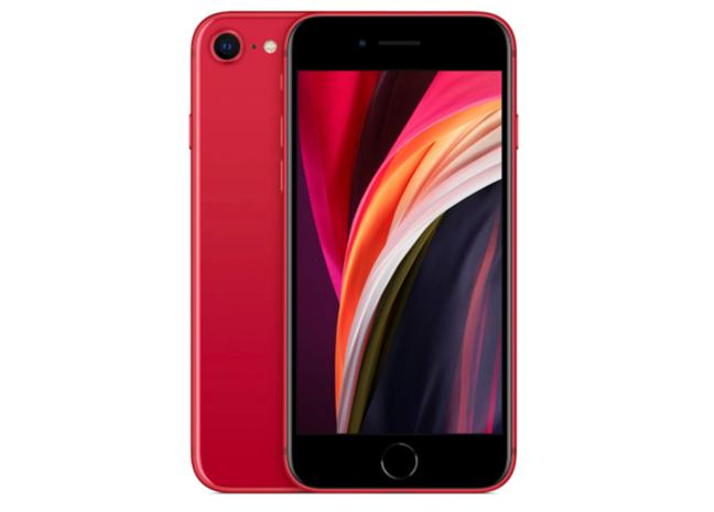 Un iPhone (SE 2nd Gen) care are NFC