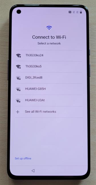 OnePlus 9 funcționează pe rețele Wi-Fi 6