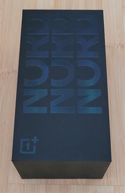 OnePlus Nord CE 5G - Cutia în care vine telefonul