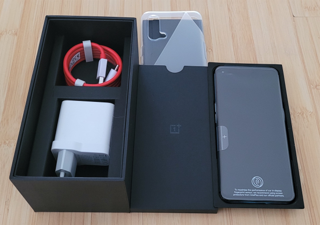Despachetarea OnePlus Nord CE 5G