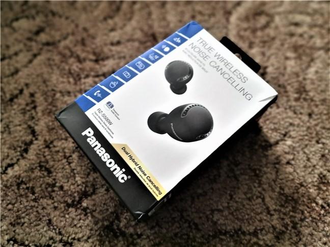Panasonic RZ-S500W: Spatele cutiei