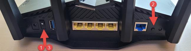 Cum faci un hard reset pe un router ASUS cu Wi-Fi 6