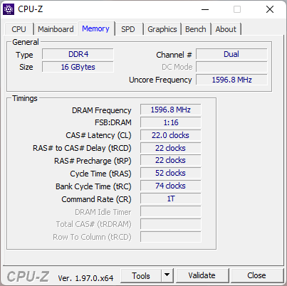 ASUS ROG Strix G17 G713QC: Specificații RAM