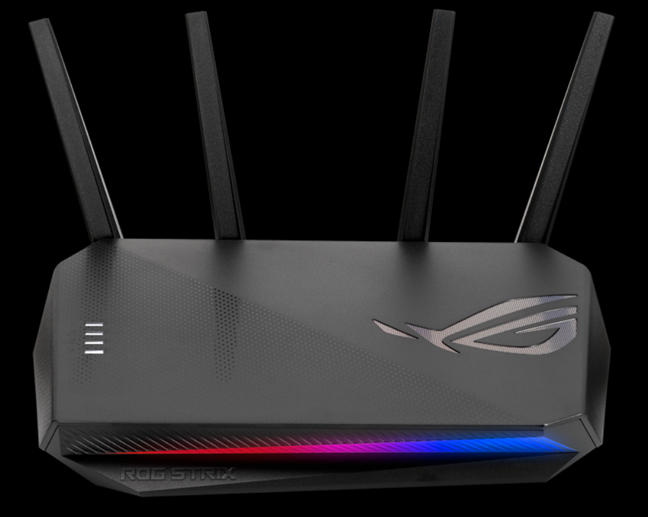 ASUS ROG STRIX GS-AX5400 - router pentru pasionații de jocuri