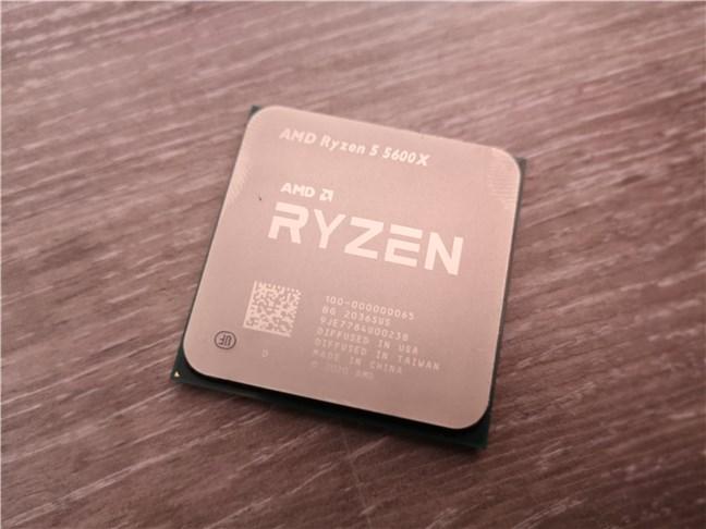 Procesorul de desktop AMD Ryzen 5 5600X