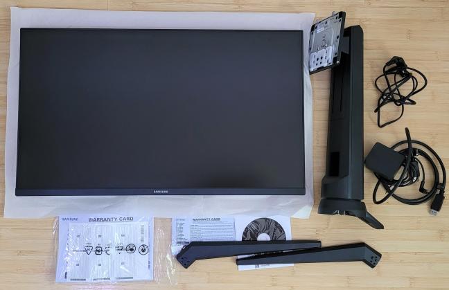 "Despachetarea Samsung 27"" G35TF Odyssey"