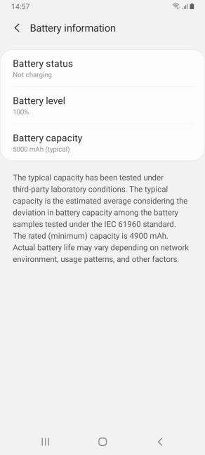 Telefoanele de buget Samsung Galaxy au o baterie de 5000 mAh
