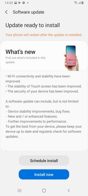 Actualizările pentru Android sunt disponibile timp de patru ani