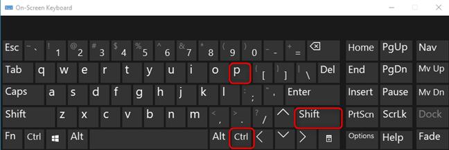Apasă CTRL+SHIFT+P în Firefox pentru Windows, Linux sau ChromeOS