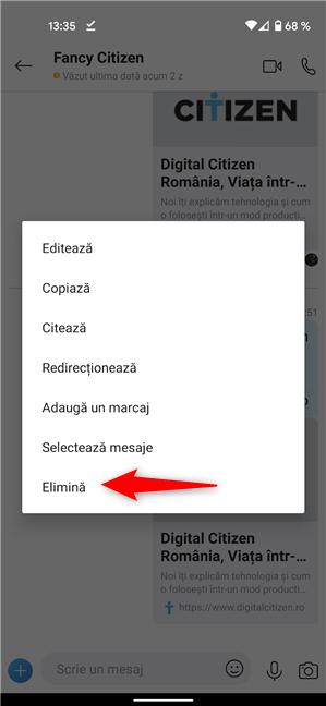 Cum ștergi mesajele din Skype pe Android și iPhone