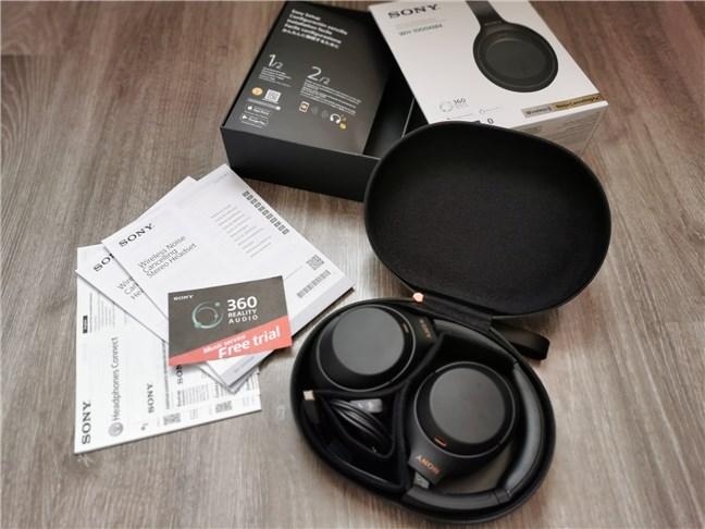 Conținutul pachetului Sony WH-1000XM4