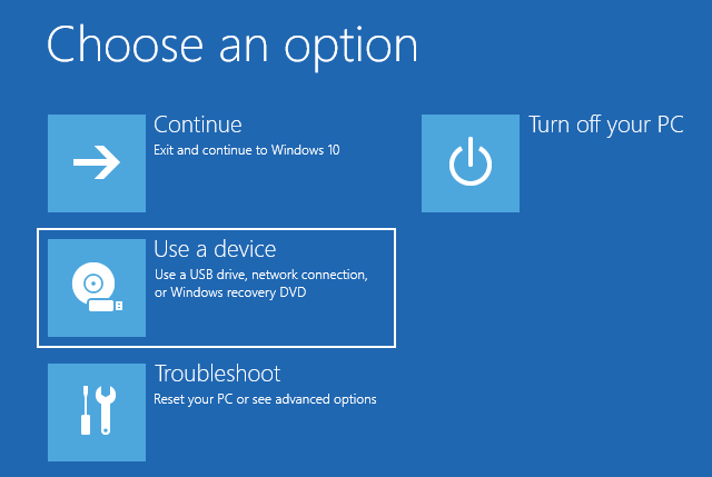 Bootează PC-ul cu Windows 10 de pe o unitate USB