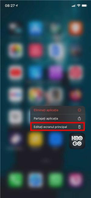 Cum dezinstalezi aplicații de pe iPad ori iPhone editând ecranul principal
