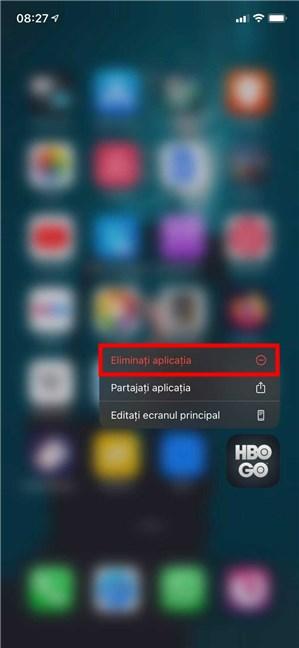 Cum ștergi o aplicație pe iPad ori iPhone folosind meniul ei