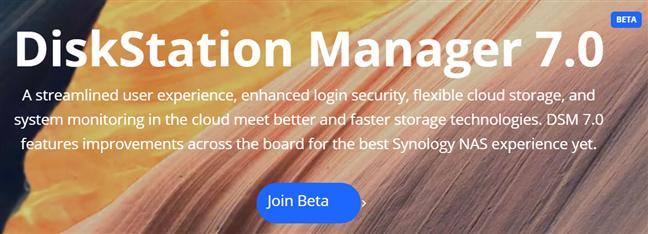 Alătură-te programului DiskStation Manager 7 Beta