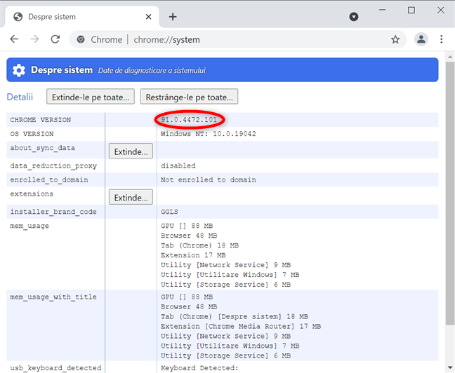 Cum verifici versiunea de Chrome de pe Mac și Windows