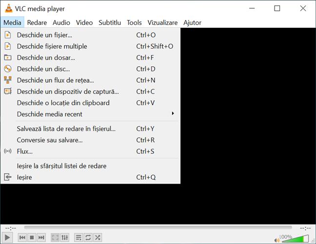 Poți face capturi de ecran cu VLC în videoclipuri din diferite locații