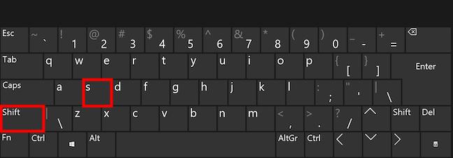 Fă capturi de ecran în Windows cu o combinație de taste