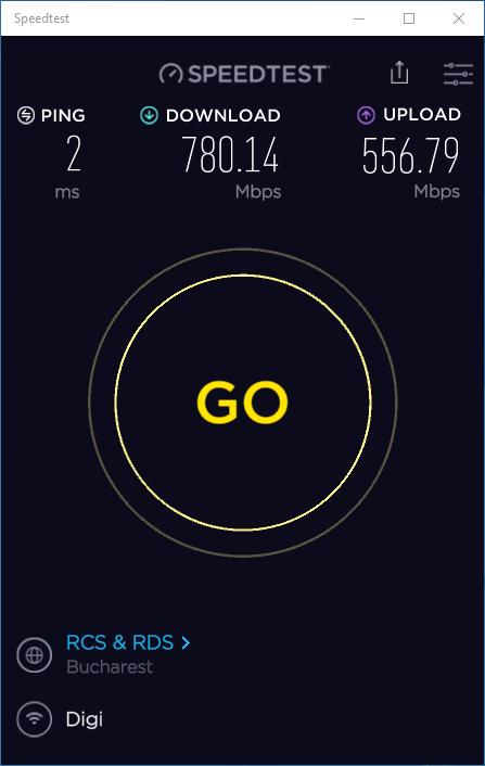 Viteza prin Wi-Fi 6 pe un ASUS Mini PC PN62