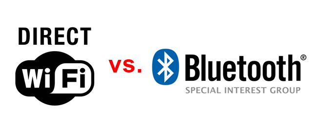 Wi-Fi Direct vs. Bluetooth