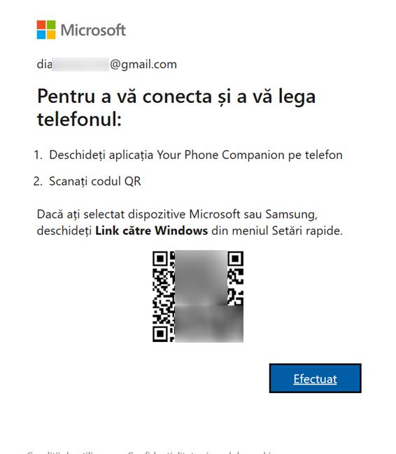 Folosește-ți Android-ul pentru a scana codul QR în Windows 10