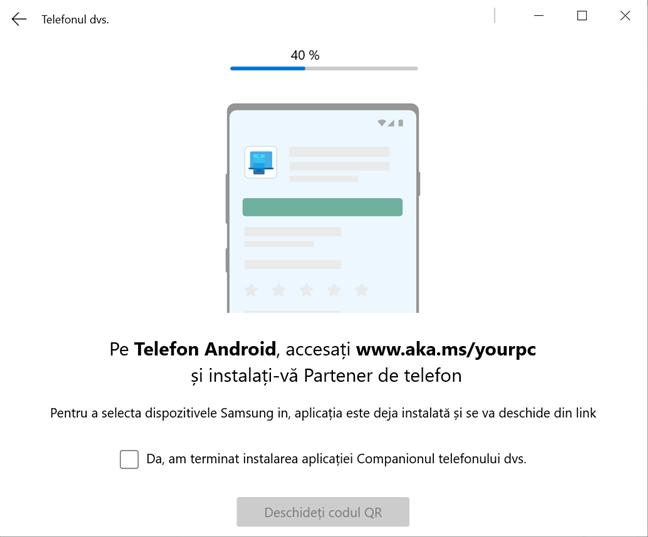 Este momentul să instalezi Companionul telefonului dvs. Pe smartphone-ul cu Android
