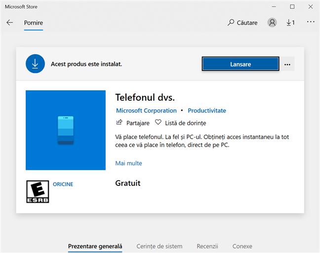 Telefonul dvs. este disponibil în Microsoft Store