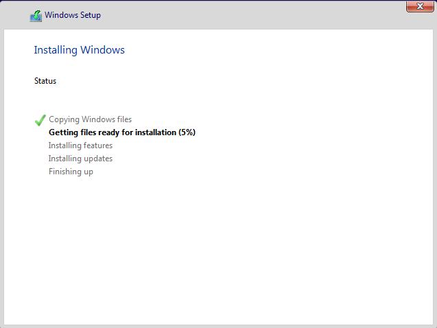 Se instalează Windows 10