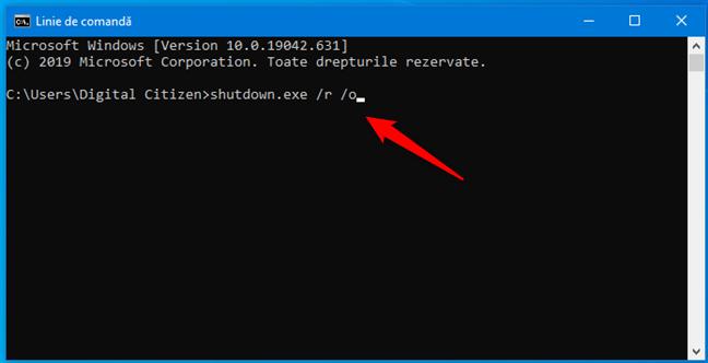 Cum intri în Safe Mode în Windows 10 folosind comanda shutdown