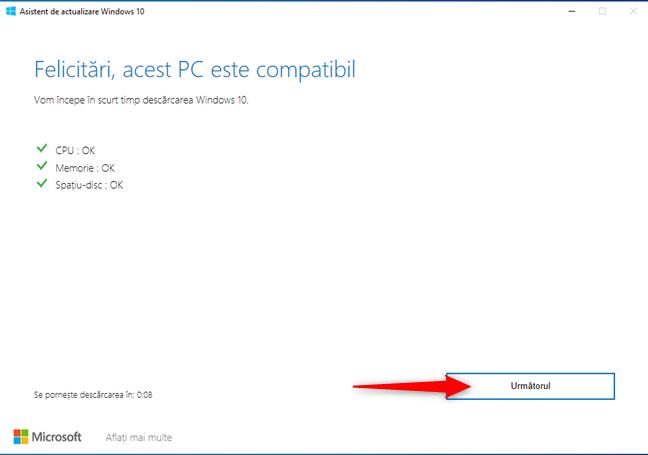 Se evaluează compatibilitatea PC-ului tău