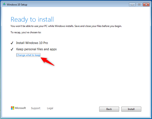 Windows 10 este gata de instalare