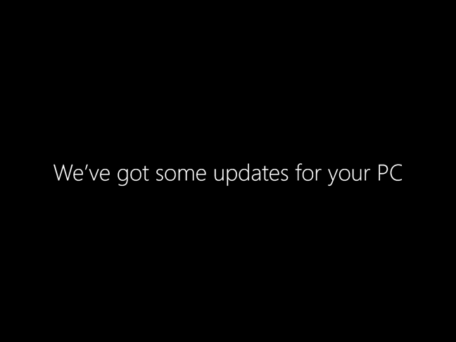 Windows 10 are actualizări de instalat