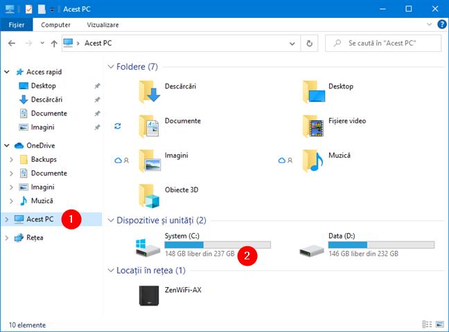 Cerințe de sistem pentru Windows 11: Stocare