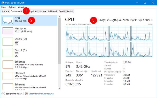 Cerințe sistem pentru Windows 11: Procesor
