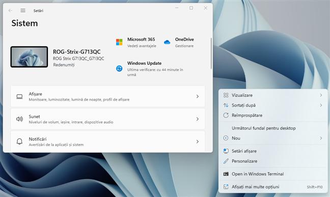 Ferestrele și meniurile din Windows 11 au colțuri rotunjite