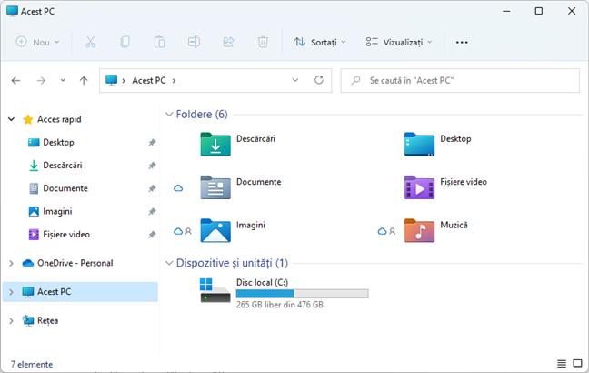 Windows 11 are pictograme noi